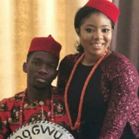 More photos from Kenneth Omeruo's traditional marriage in Enugu.