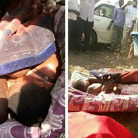 Married man gets stuck inside his girlfriend's pu**y after his wife threatened to deal with him.(Photos)